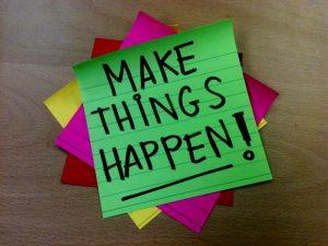 Faça acontecer - motivação