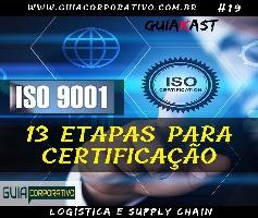 13 Etapas para a certificação ISO 9001