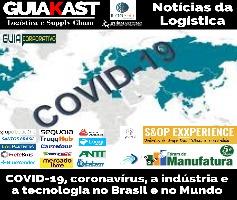 COVID-19, coronavírus, a indústria e a tecnologia no Brasil e no Mundo