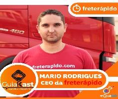 Mário Rodrigues – Fundador e CEO da Frete Rápido