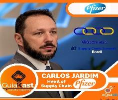 Carlos Jardim Head de Supply Chain na Pfizer
