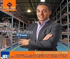Arthur Rufino CEO da JR Diesel