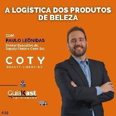 Paulo Leônidas e a logística dos produtos de beleza da COTY