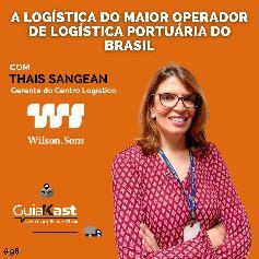 Thais Sangean e a Logística do maior operador de Logística Portuária e Marítima do Brasil