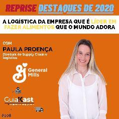 Paula Proença e a logística da empresa que é líder em fazer alimentos que o mundo adora