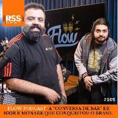 """Flow Podcast – a """"conversa de bar"""" de Igor e Monark que conquistou o Brasil"""