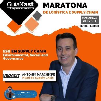 Antônio Marchiore e o ESG em Supply Chain com a Vedacit