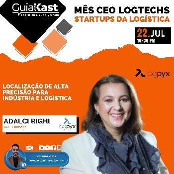 Adalci Righi e a Gestão de Pátio e Transporte por Localização de alta precisão para indústria e logística com a LogPyx