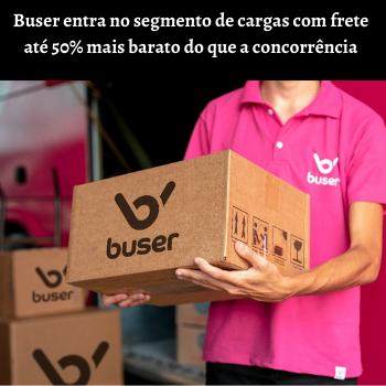 Buser entra no segmento de cargas com frete até 50% mais barato do que a concorrência
