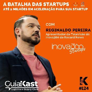 Reginaldo Pereira e a Batalha das Startups com o Inova360 da Record News